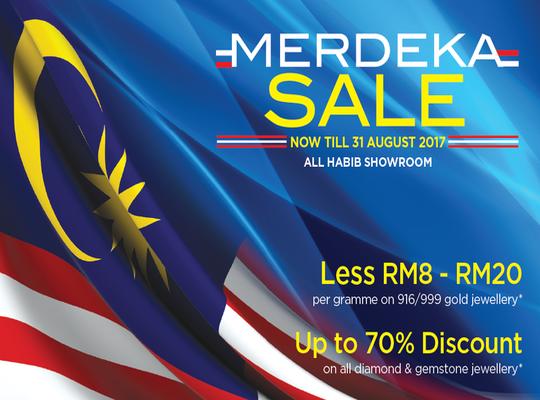 Habib Jewels Merdeka Sales