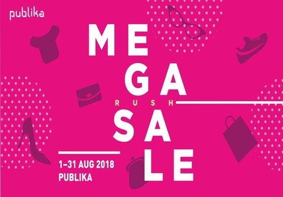 Publika Mega Rush Sale!