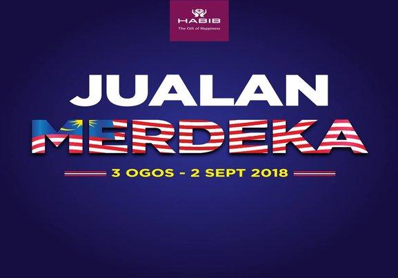 Habib Jewels: Merdeka Sales 3 Aug - 2Sept 2018!