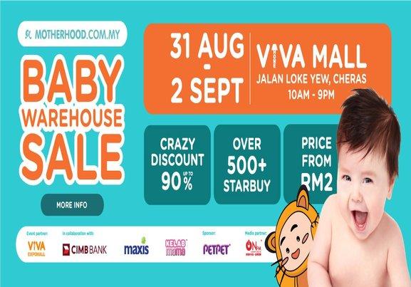 Motherhood: Baby Warehouse Sale