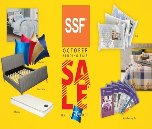 SSF: October Bedding Fair!
