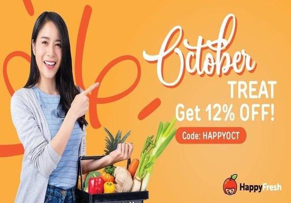 Happy Fresh: October Treat!