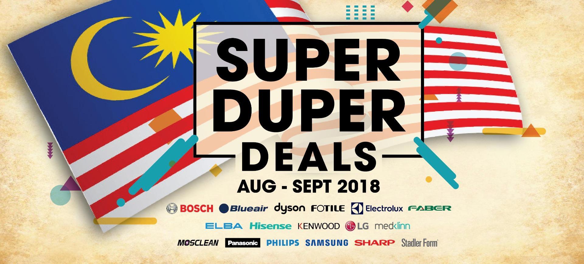 7cbb4f4561b6e Tan Boon Ming Sdn Bhd: Super Duper Deals Aug - Sept 2018!