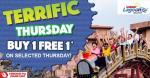 Sunway Lagoon: Terrific Thursday Promotion!