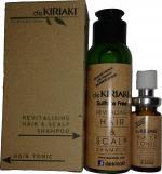 deKIRIAKI hair & scalp care shampoo with tonic starter kits for hair growth