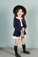 Korean style college dress for kids