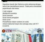 Buy UTM Degree or Diploma