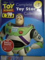Disney Pixar Toy Story 1, 2, 3 Complete Collection Book All 3 Movie Stories