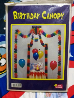 Birthday Canopy Party Decoration