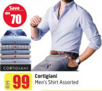Lulu Hypermarket - Cortigiani Men's Shirt Assorted