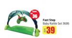 Lulu Hypermarket - Fast Step Baby Rattle Set