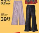 GIANT - Ladies Woven Pants