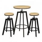 SSF Home : Red Hot Deals SSF OLGAZÜK BAR TABLE & 2 STOOLS (WHITE)