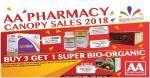 AA Pharmacy Canopy Sales 2018 !