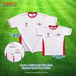 Ads Reporter : Tesco Men's & Children's FIFA 2018 England Sport Tee White