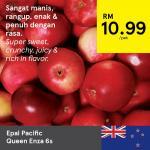 Ads Reporter : Tesco Epal Pacific Queen Enza 6s
