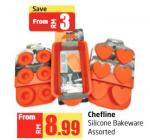Lulu Hypermarket - Chefline Silicone Bakeware