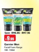 Lulu Hypermarket - Garnier Men Facial Foam Range