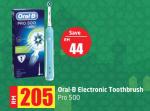 Lulu Hypermarket - Oral-B Electronic Toothbrush Pro