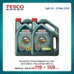 Ads Reporter : Tesco Minyak Enjin Sintetik Castrol 4L
