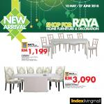 Ads Reporter: Index Living Mall Malaysia Dining Set