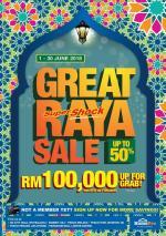 Ad Reporter : HomePro Malaysia Great Raya Sale 1 - 30 June 2018