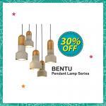 Ads Reporter : HomeFix Bentu Pendant Lamp Series