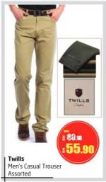 Lulu Hypermarket - Twills Men's Casual Trouser