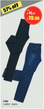 Lulu Hypermarket - Lulu Ladies' Jeans