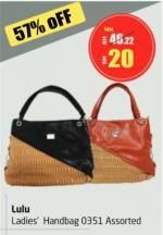 Lulu Hypermarket - Lulu Ladies' Handbag