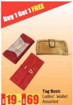 Lulu Hypermarket - Tag Basic Ladies' Wallet