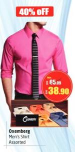 Lulu Hypermarket - Oxemberg Men's Shirt