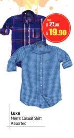 Lulu Hypermarket - Luxe Men's Casual Shirt