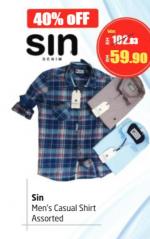 Lulu Hypermarket - Sin Men's Casual Shirt