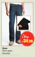 Lulu Hypermarket - Oxen Men's Jeans