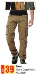 Lulu Hypermarket - Oxen Men's Cargo Pants