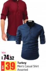 Lulu Hypermarket - Turkey Men's Casual Shirt