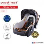 Motherhood.com.my: Sweet Heart Paris CS375 Baby Car Seat (White Grey) with Sun Shade Canopy
