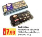 Lulu Hypermarket - Fruitissimo Marble Cheese Brownies / Chocolate Cheese Berhantu