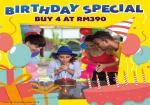 Sunway Lagoon:  Birthday Special