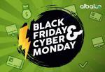 Albaloo: Black Friday & Cyber Monday!