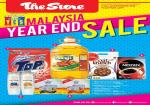 The Store: MALAYSIA YEAR END SALE !