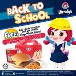 Wendy's : Back To School Deal !