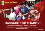 MAB Shoppe: Massage For Charity!
