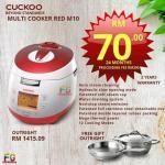 Cuckoo Multicooker RED M10
