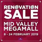 Habib Jewels - Renovation Sale @ Mid Valley Megamall !